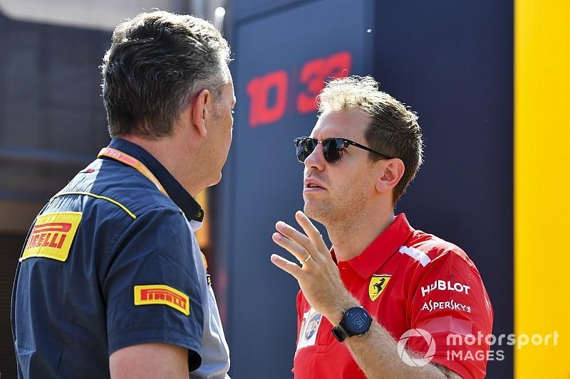 """Vettel: """"Mercedes favorita, ma credo che domenica possa succedere di tutto"""""""