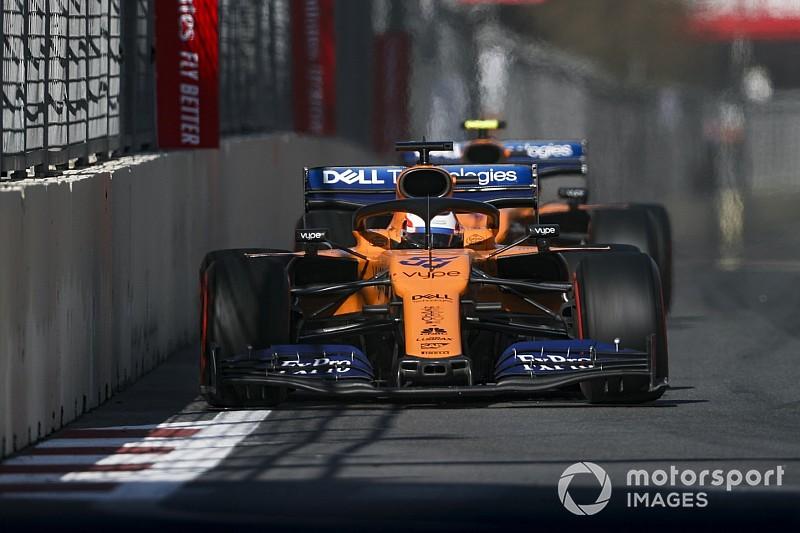 """Sainz diz que McLaren ainda precisa melhorar em """"todas as áreas"""""""