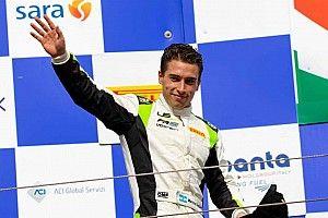 Siebert debuta con podio en Vallelunga