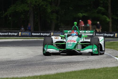 Herta credits Andretti drivers, Road To Indy after first pole