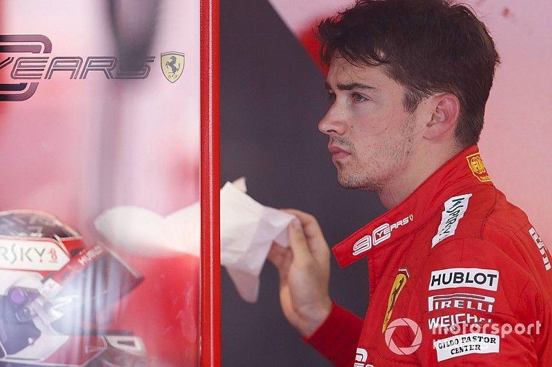 Ferrari estudia cómo ayudar a Leclerc a mejorar en Q3