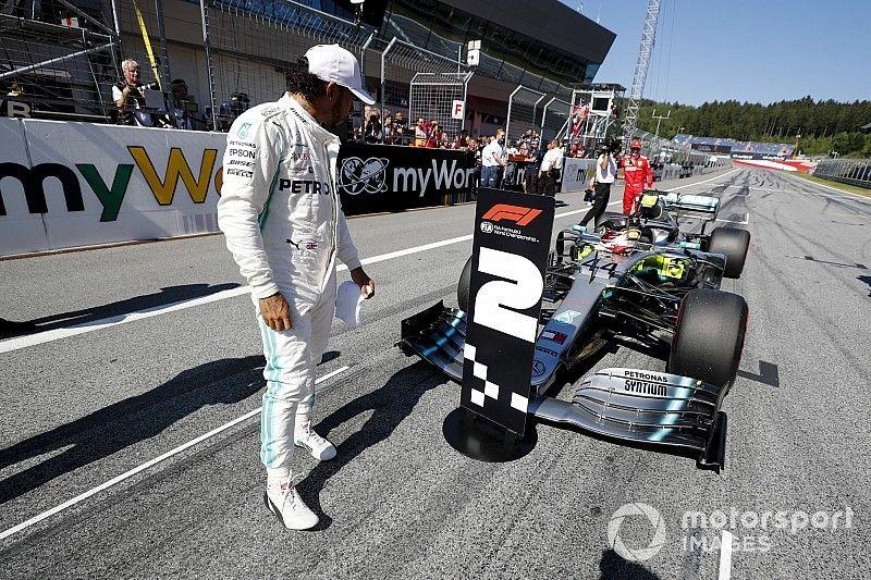 "Hamilton: Mercedes ""definitivamente subestimó"" el ritmo de Ferrari"