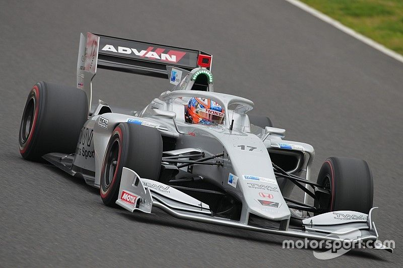 Rookie Charpentier axed after one Super Formula race