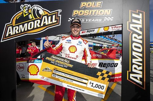 Perth Supercars: McLaughlin takes dominant pole