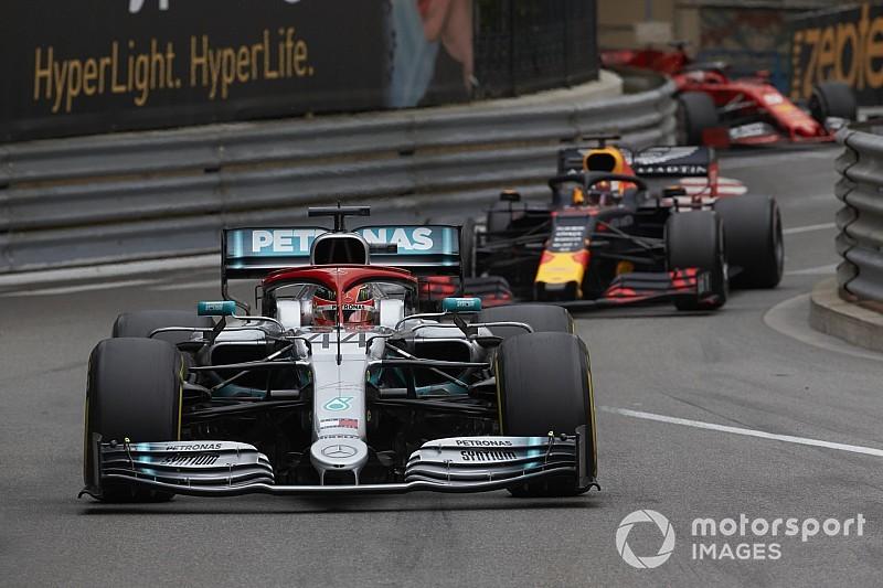 """Rosberg y Webber elogian el """"espectacular"""" manejo de Hamilton en Mónaco"""