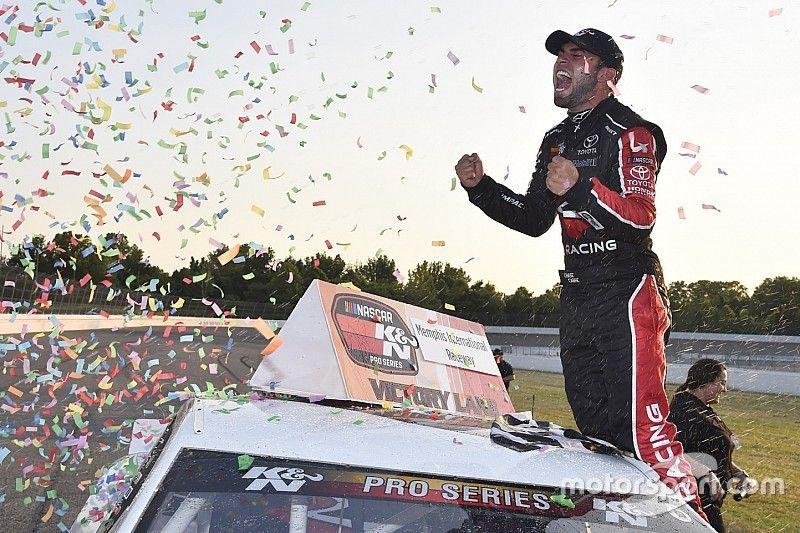 Hometracks Recap: Chase Cabre celebrates first NASCAR K&N win