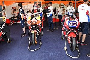 Márquez prueba en el test de Jerez un chasis de fibra de carbono