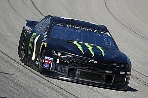 "Kurt Busch ""had a blast"" with runner-up finish at Michigan"
