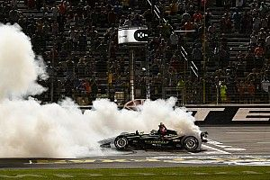 Newgarden credits team, car with Texas win