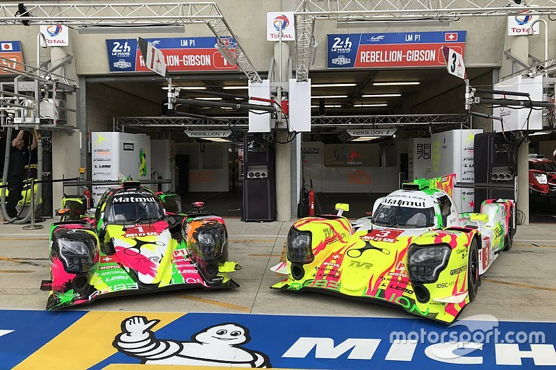 Rebellion reveals radical 'art car' liveries for Le Mans