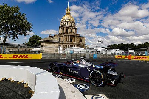 E-Prix Paris: Balapan penuh kecelakaan, Frijns menang