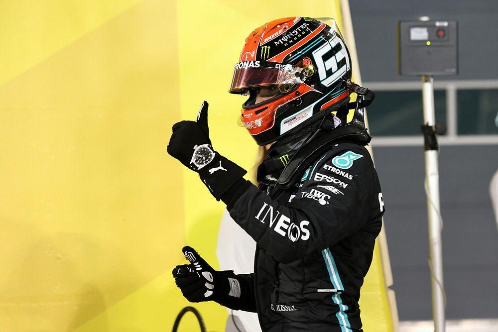 Russell con el Mercedes muestra lo malo de la F1, dice Sainz