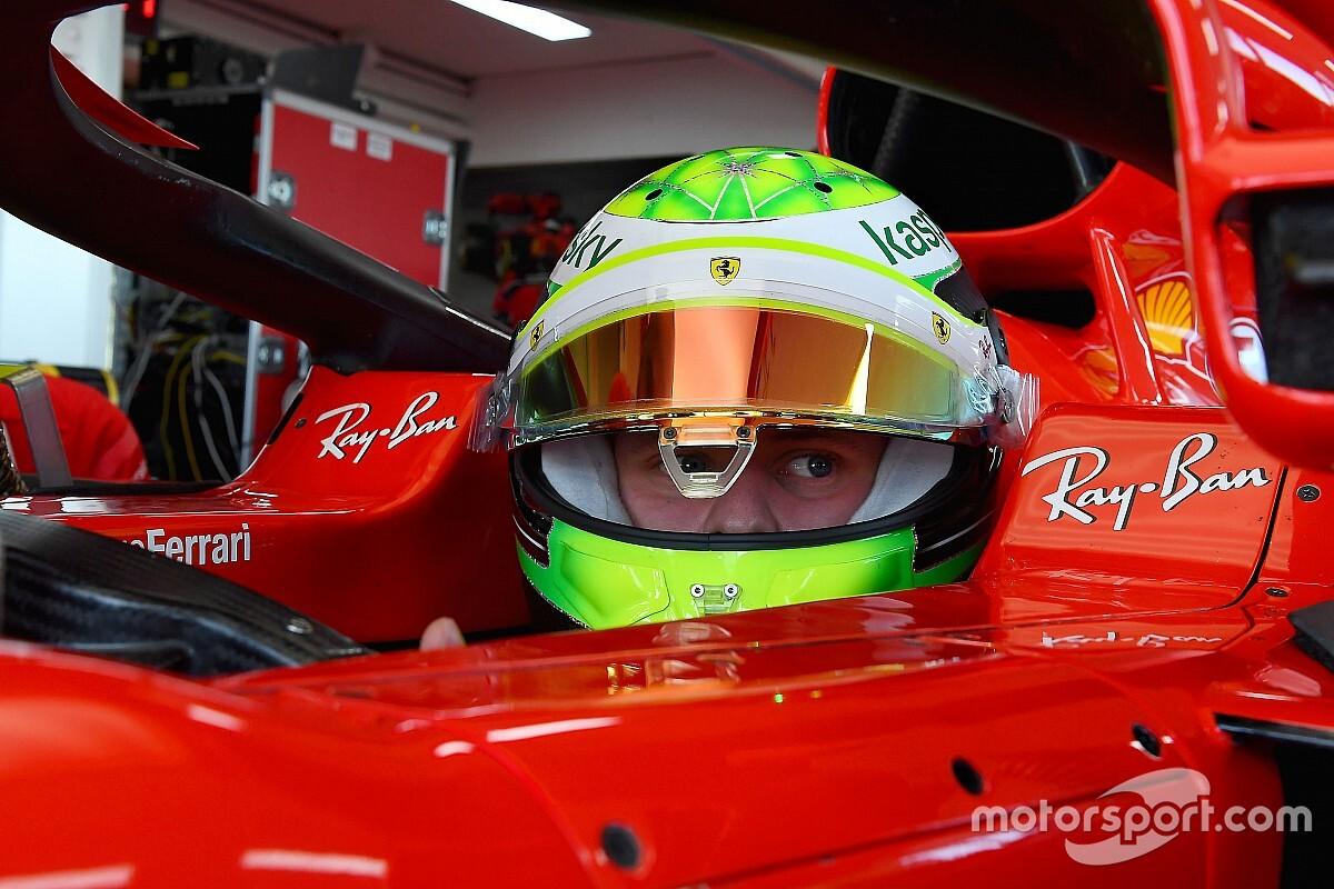 Schumacher, F1'e çabucak adapte olmak istiyor