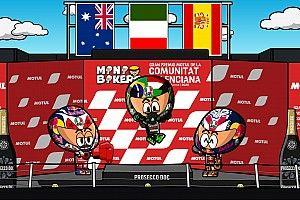 Vídeo: el GP de Valencia de la coronación de Mir, por MiniBikers