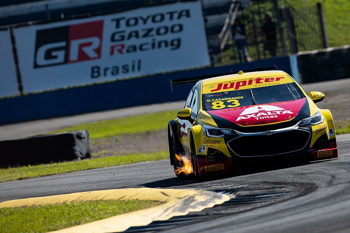 Stock Car: Casagrande domina corrida 2 e vence em Curitiba