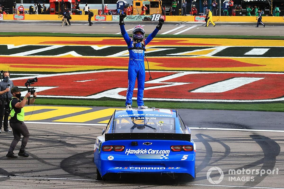 Las Vegas triumph a glimpse of Kyle Larson's NASCAR promise thumbnail