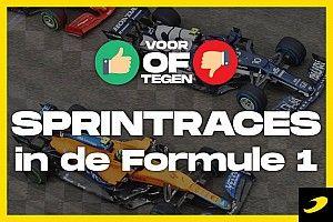 Voor of tegen? Sprintraces in de Formule 1