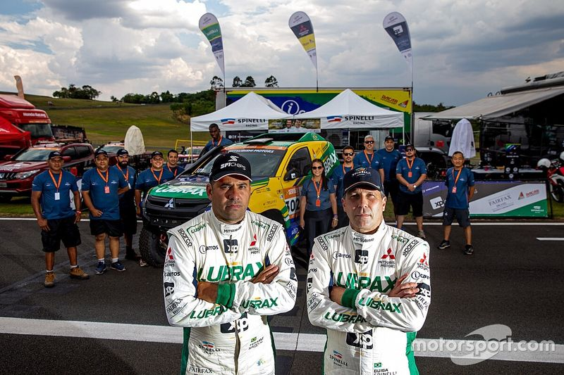 Guiga Spinelli e Youssef Haddad disputam Rally Dakar 2021 com a equipe X-raid