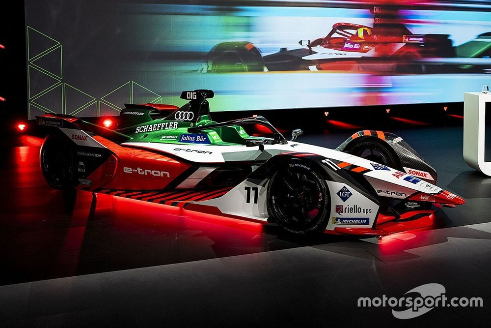Audi presenta su nuevo coche para la Fórmula E 2021