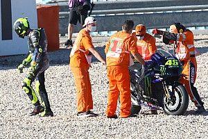 Rossi Crash akibat Perubahan Radikal Motor