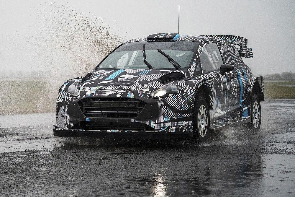 WRC: M-Sport svela le prime foto della Fiesta Rally1 ibrida