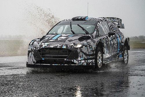 M-Sport revela las primeras imágenes de su Fiesta Rally1 híbrido