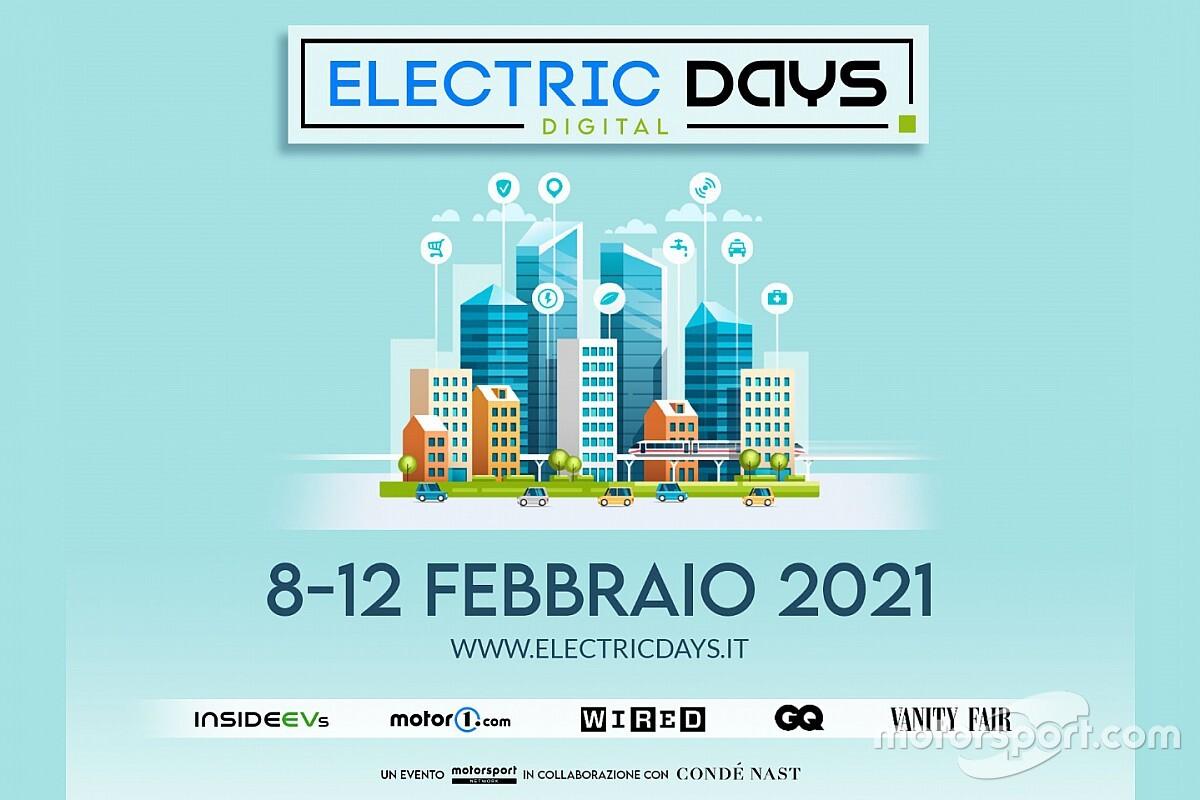 Electric Days Digital dall'8 al 12 febbraio 2021