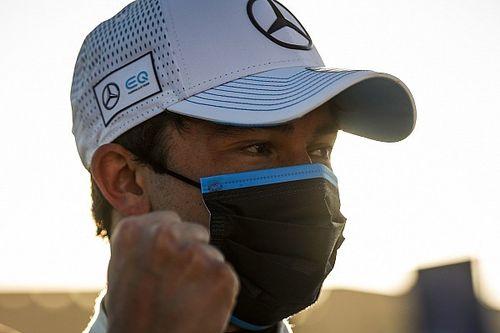 Pierwsze pole position de Vriesa