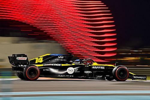 Tes Abu Dhabi: Alonso Lebih Cepat daripada Kualifikasi Renault
