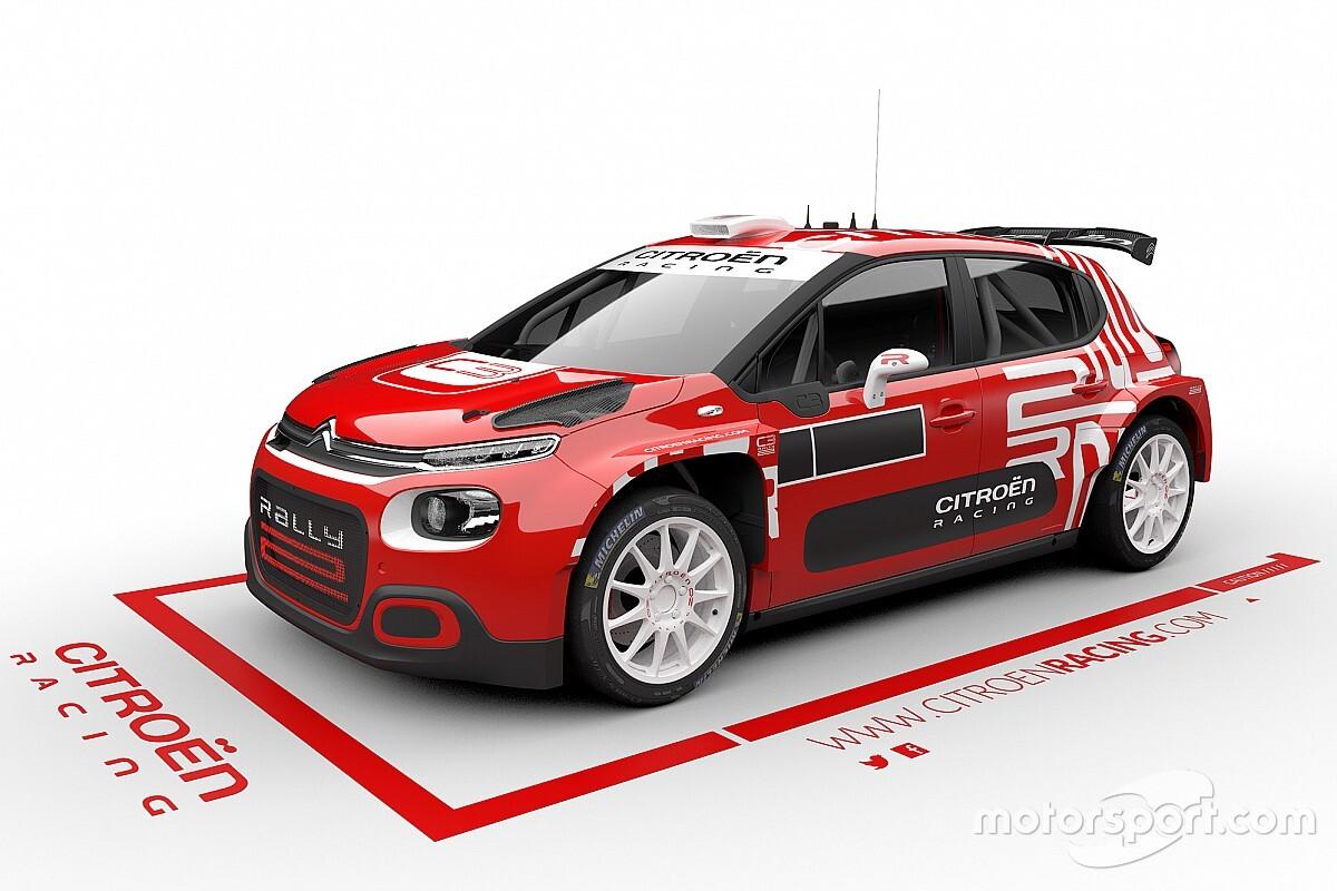WRC: Citroen presenta la C3 Rally2. Arriverà nel 2021