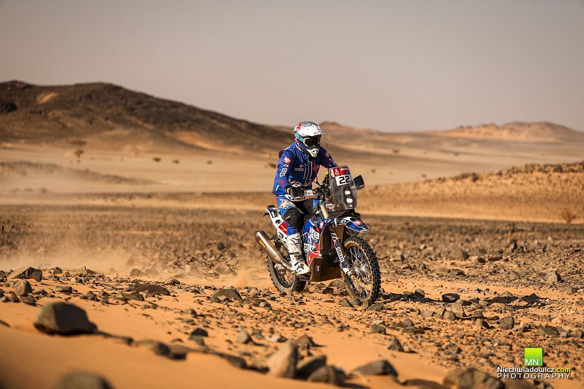 Sonik ocenia przebieg Dakaru