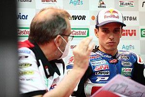 Alex Márquez pide perdón a su equipo por sus abandonos