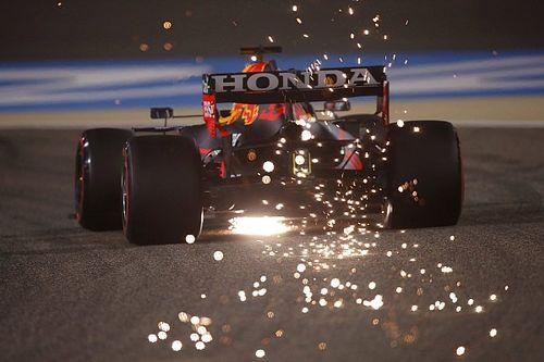 Verstappen's floor damage cost him 0.1s per lap