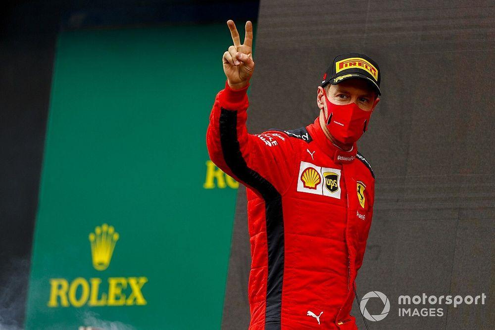 """Ferrari: Le podium de Vettel était """"très important"""""""