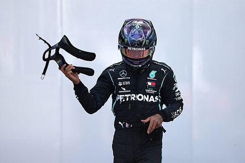 PÓDIO: Chuva traz caos ao GP da Turquia, mas Hamilton se sobressai, vence e garante o hepta