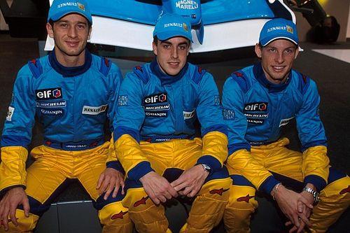 Por qué Renault prefirió a Alonso antes que a Button en 2003