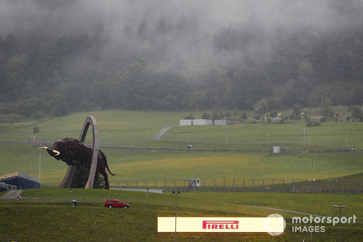 2020 Steiermark GP 3. antrenman: Seans yağmur nedeniyle iptal edildi!