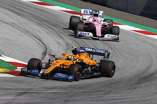 Perez: A versenyzőkön fog múlni a McLaren-Racing Point párharc