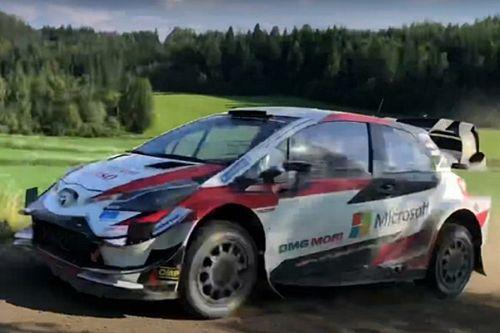 WRC: Toyota prova novità aerodinamiche in Finlandia
