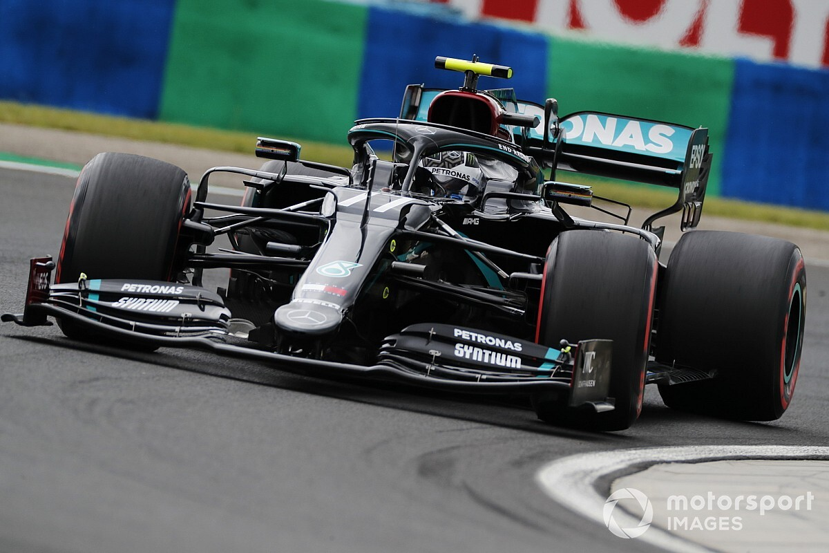 Bottas 'frustrated' after believing he had shot at pole