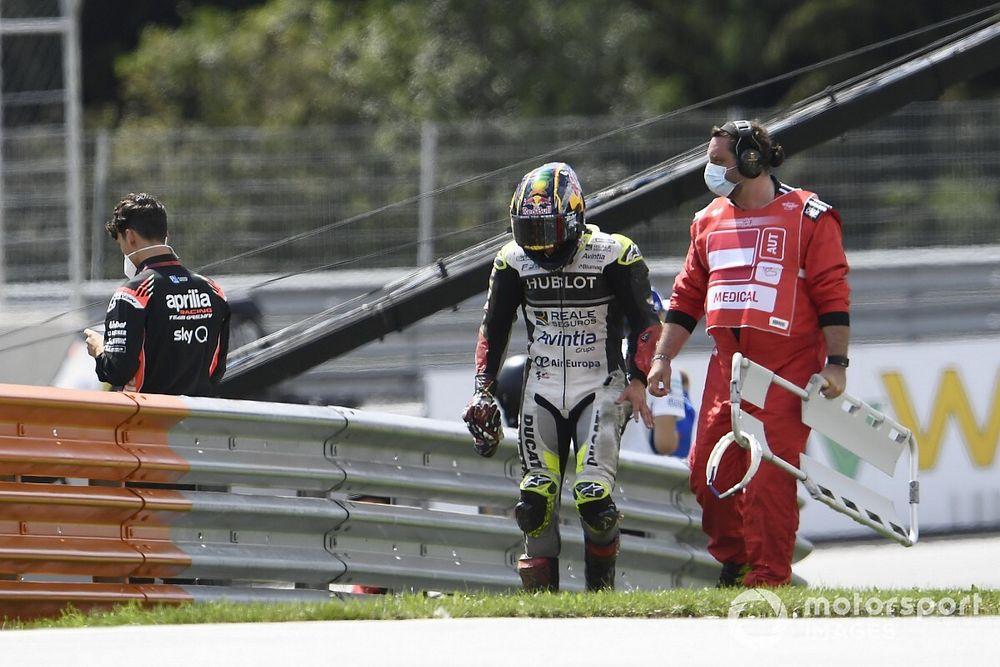 Zarco set for wrist surgery after Austria MotoGP crash