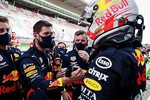 """Horner: """"Verstappen heeft geen ervaren teamgenoot meer nodig"""""""