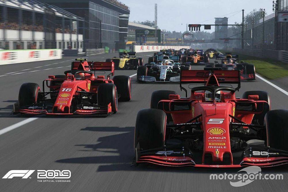 Teljes egészében az F1-es virtuális Spanyol Nagydíj, akár Leclerc és Russell nézetéből
