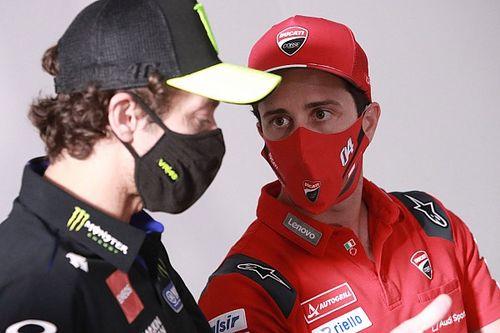Rossi blij met Dovizioso als laatste teamgenoot in MotoGP