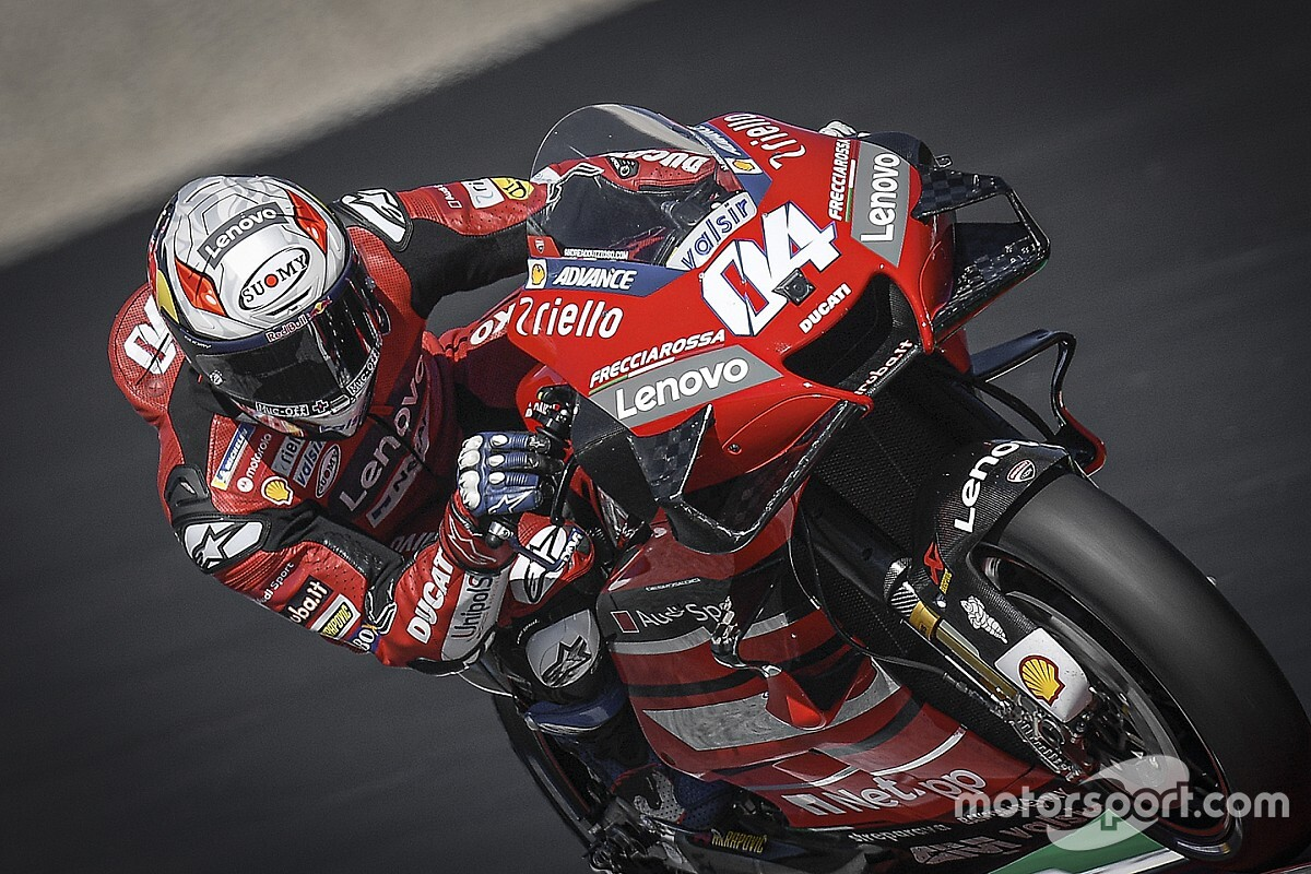 Dovizioso lidera el warm up en el Red Bull Ring