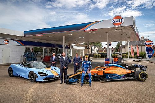 McLaren e Gulf Oil siglano un accordo e tornano a collaborare