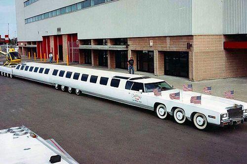 El coche más largo del mundo