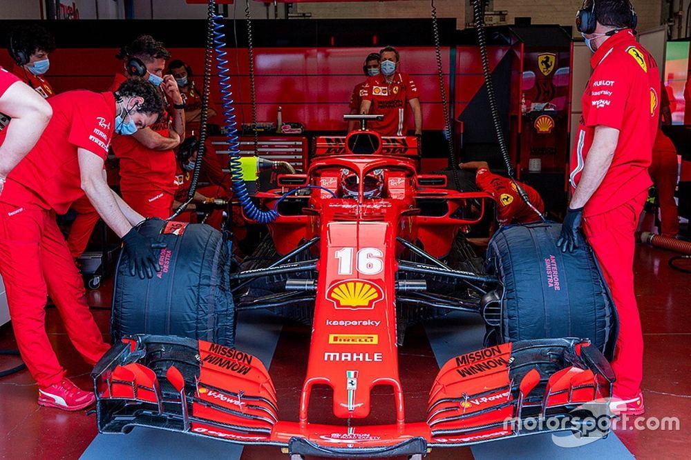 """Leclerc: """"Mi mancava guidare una Formula 1 sul serio"""""""
