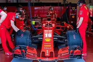 F1, fotogallery Ferrari: il primo giorno di test al Mugello