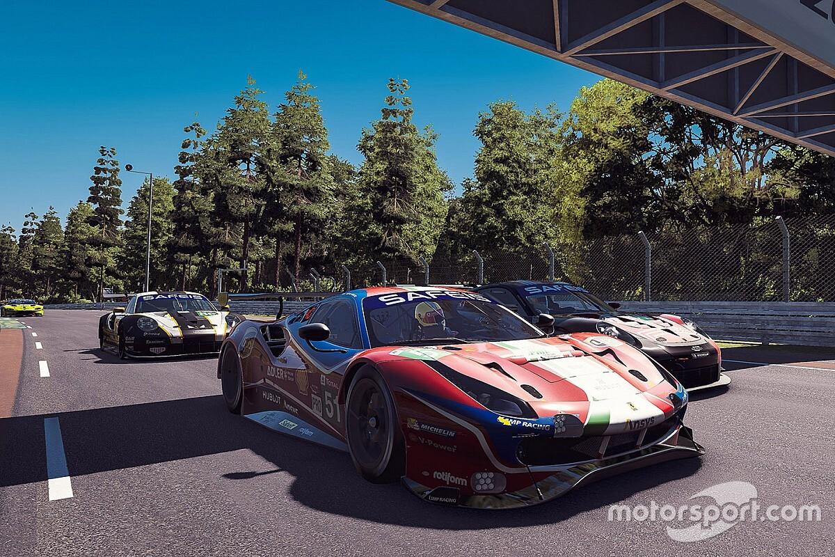 Virtual Le Mans, 6a Ora: la Ferrari risale dopo la bandiera rossa
